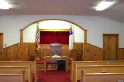 Inside Berean Baptist Church